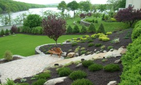 Amazing Designing Gardens On Slopes Slope Landscaping Ideas with regard to Small Sloped Backyard Ideas