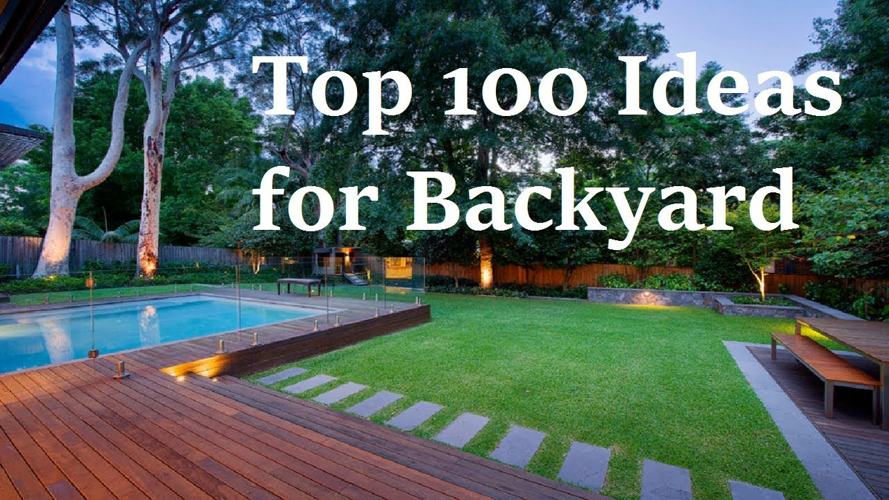 Backyard Designs Top 100 Ideas For Backyard Landscapes with regard to 12 Some of the Coolest Ideas How to Build Backyard Layout Ideas