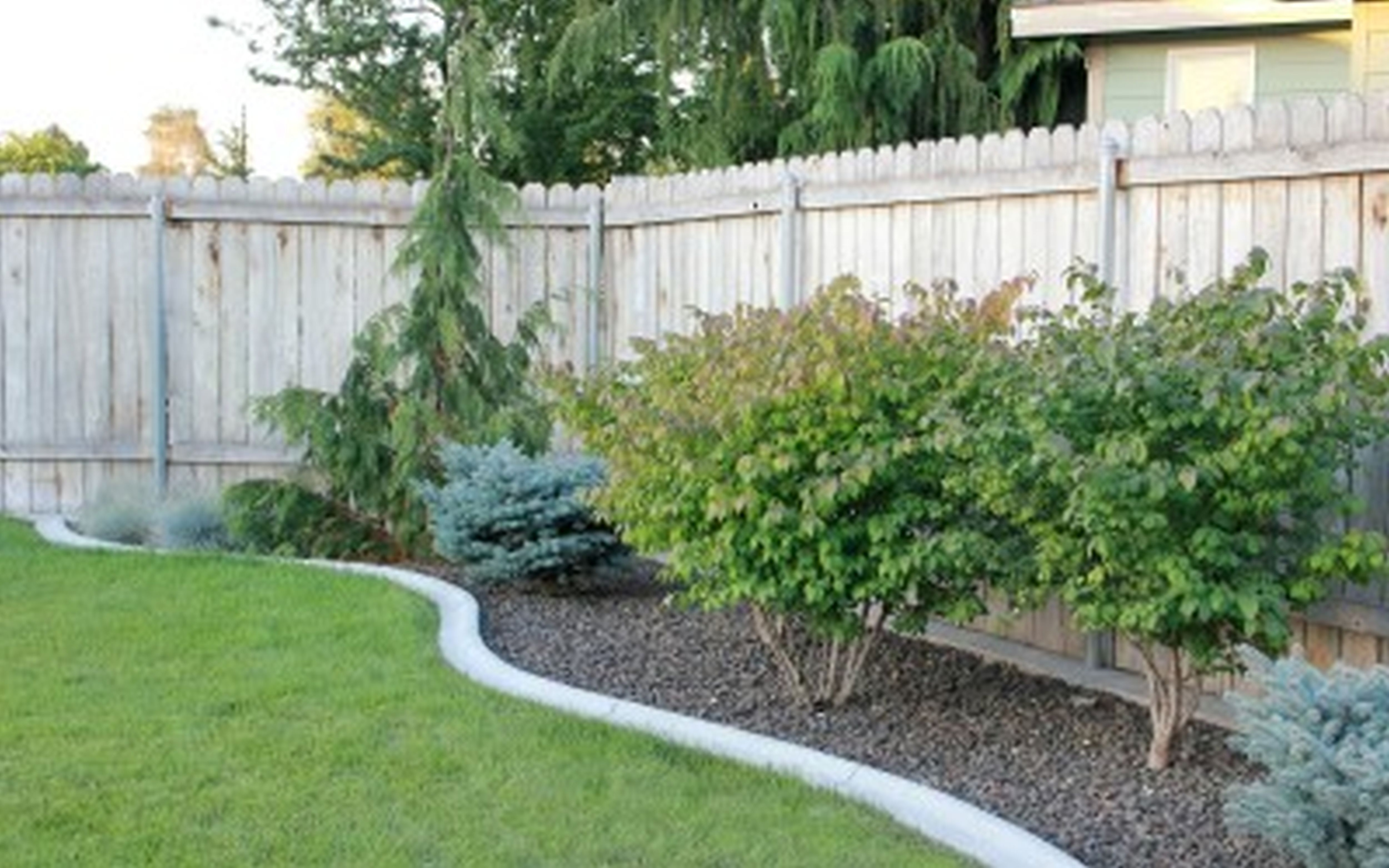 Backyard Landscape Ideas On A Budget 2018 Simple Backyard throughout 14 Awesome Ideas How to Improve Cheap Landscaping Ideas Backyard