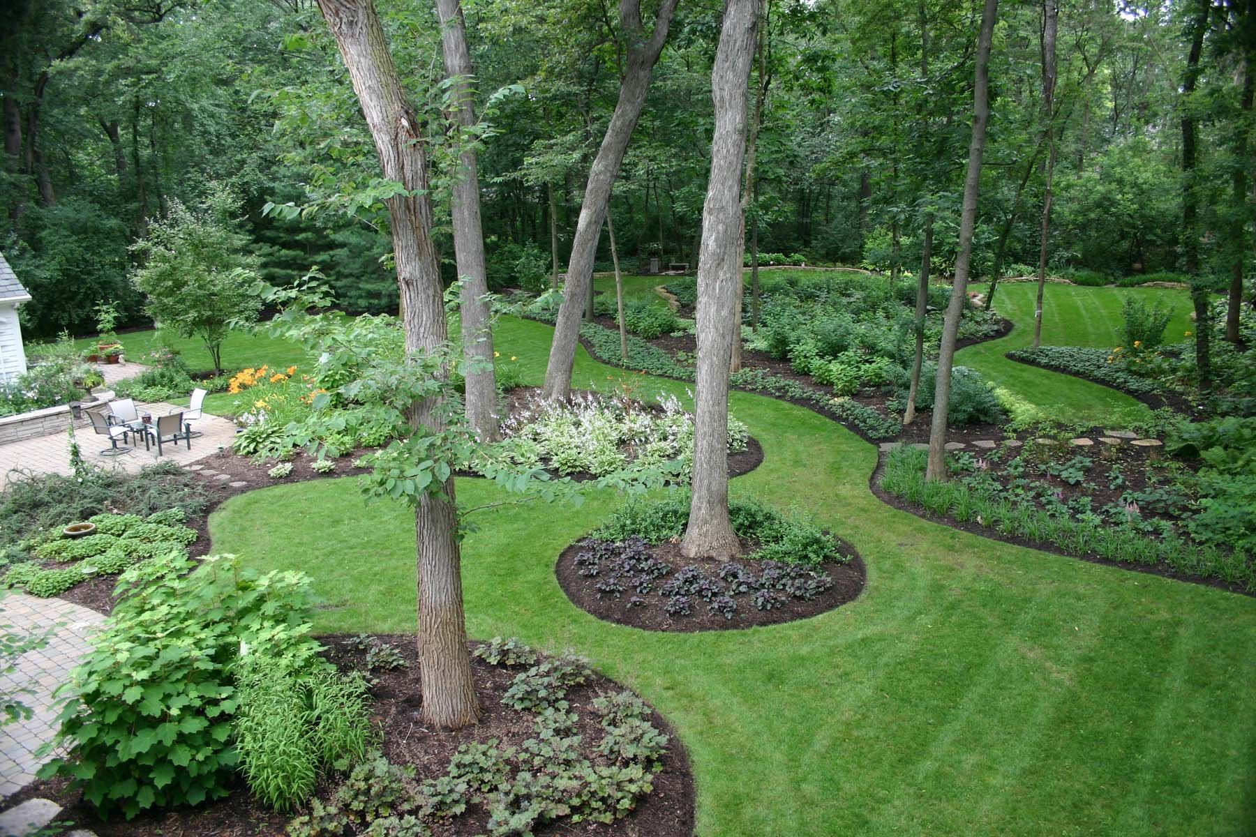 Backyard Landscapes intended for 11 Awesome Designs of How to Craft Backyard Landscapes