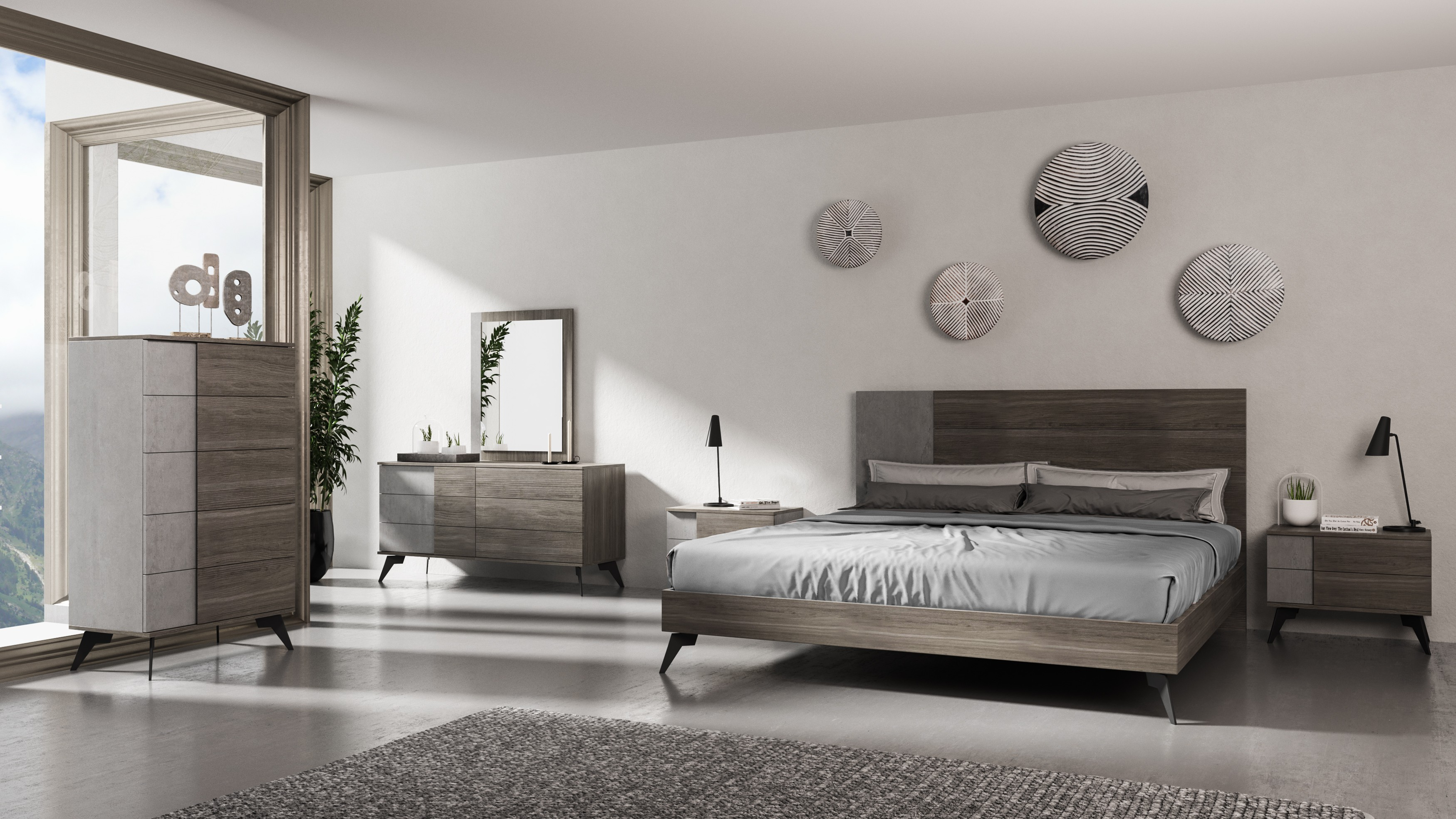 Buy Platform Beds Or Modern Beds In Modern Miami with regard to 15 Genius Designs of How to Craft Modern Italian Bedrooms