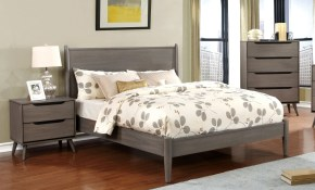 Carson Carrington Bodo Grey 3 Piece Mid Century Modern Bedroom Set pertaining to 12 Clever Designs of How to Craft Modern Style Bedroom Set