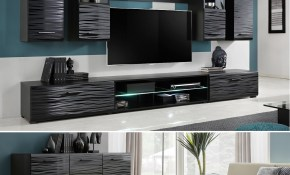 Details About Furniture Living Room Set Tv Unit Modern Cabinet Cupboard Wall Shelf Stand Gloss with Living Room Sets Uk