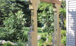 Diy Wooden Arbor Lehman Lane for 11 Some of the Coolest Tricks of How to Makeover Backyard Arbor Ideas