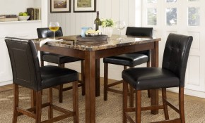 Dorel Living Andover 5 Piece Counter Height Dining Set Multiple Colors in Deals On Living Room Sets