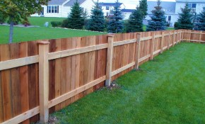 Elegant 5 Backyard Fence Types That Will Blow Your Mind For 2019 for Backyard Fence Styles