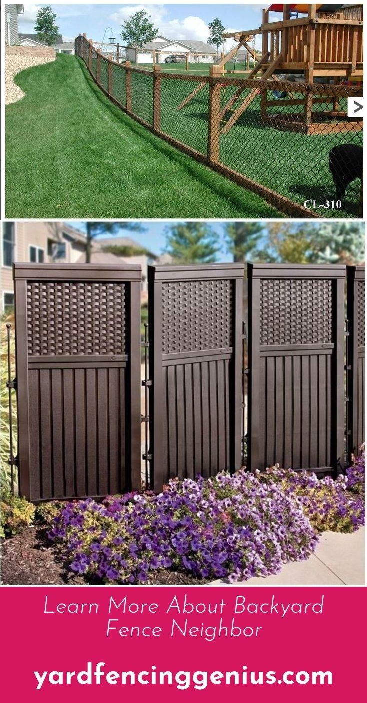 Go To The Website To Read More On Backyard Fence Options Diy Fence inside 13 Awesome Ways How to Makeover Backyard Fencing Options