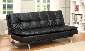 Hauser Ii Futon Sofa Furniture Of America At Rooms For Less within 10 Genius Concepts of How to Make Futon Living Room Set