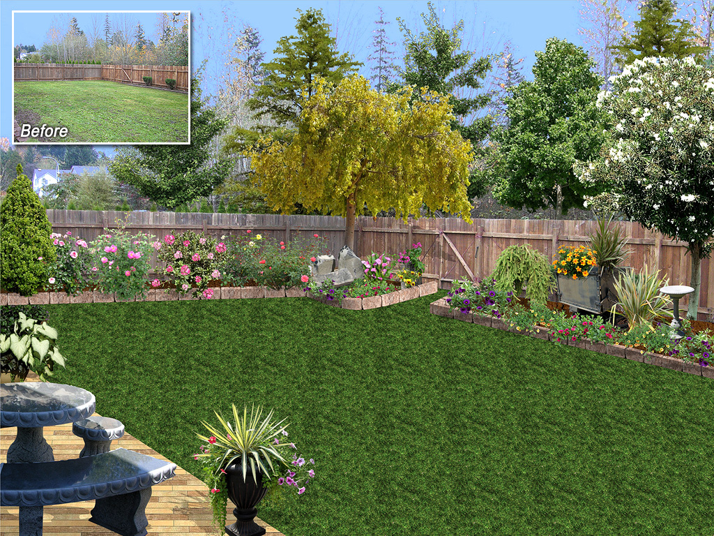 Home Landscaping Software Ideas pertaining to Backyard Landscape Software