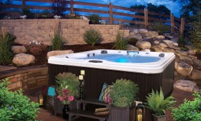 Hot Tub Landscaping For The Beginner On A Budget Get Outside regarding Backyard Ideas With Hot Tub