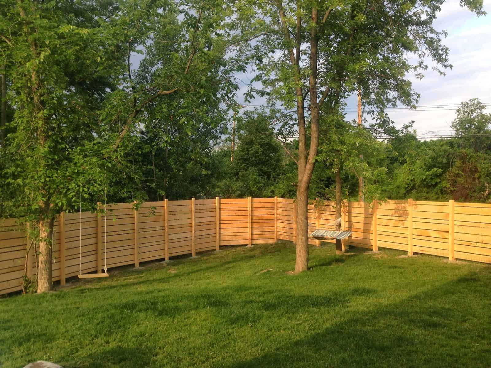 How Much Does It Cost To Fence A Yard The Housing Forum for Backyard Fencing Cost