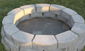 How To Build A Diy Fire Pit For Only 60 Fire Pit Diy Outdoor within Backyard Ideas With Fire Pits