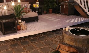 How To Build A Simple Diy Deck On A Budget Patio Style Challenge throughout 13 Awesome Concepts of How to Make Simple Patio Ideas For Small Backyards