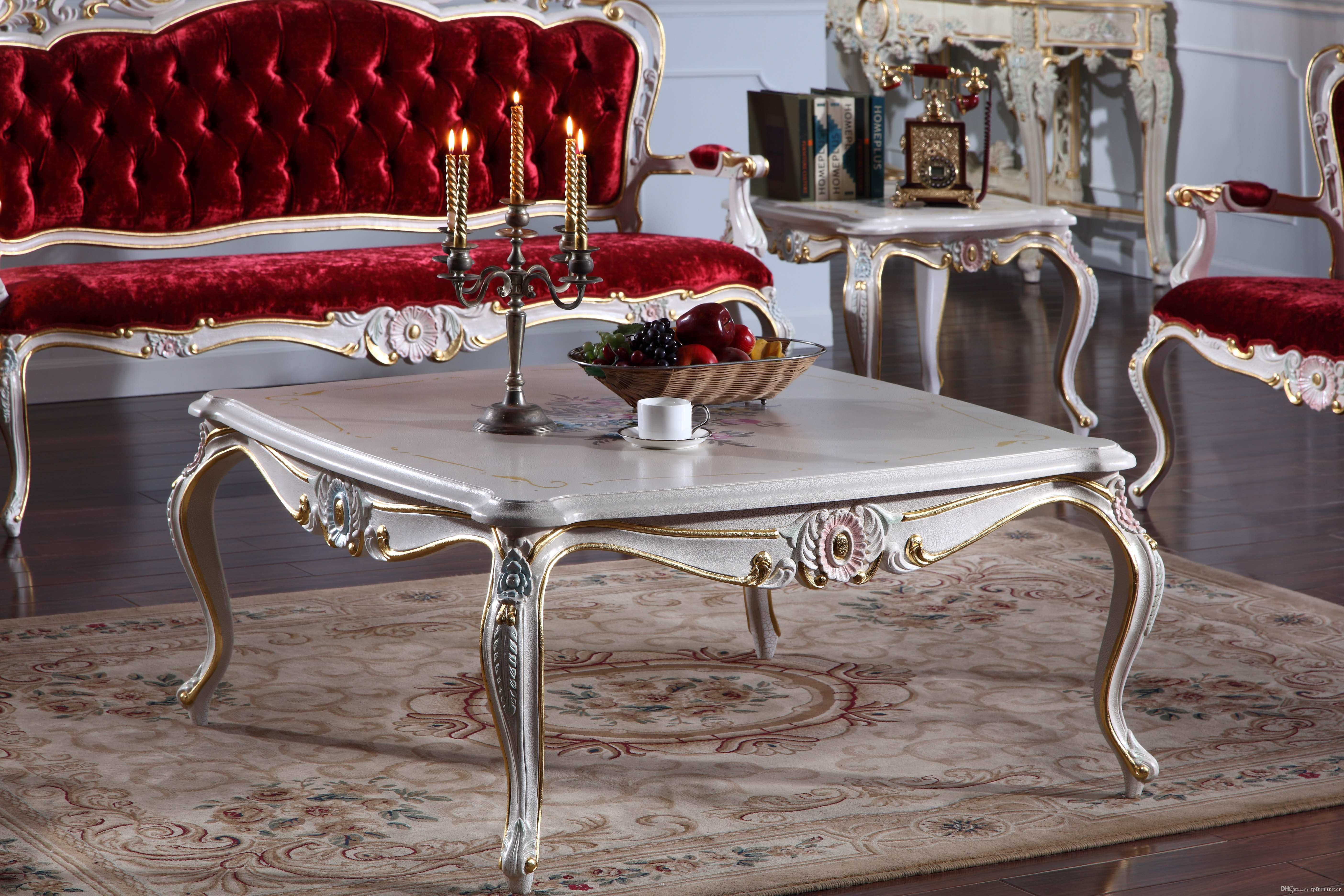 Italian Solid Wood Living Room Furniture French Classic Coffee Table Italian Square Coffee Table in 10 Genius Tricks of How to Build Italian Living Room Set