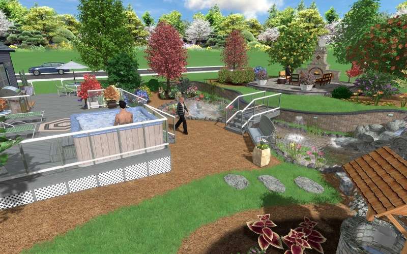 Landscape Design Software Gallery inside Backyard Landscape Software
