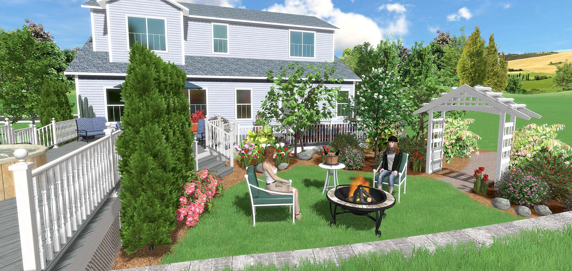 Landscape Design Software Overview with regard to 10 Genius Tricks of How to Upgrade Backyard Landscape Software