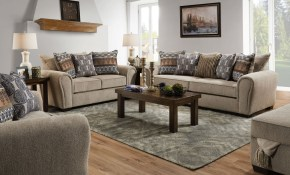 Lane Furniture 9182 04q Outback Taupe 9182 2 Outback Taupe 9182 15 Outback Taupe with regard to Sleeper Living Room Set