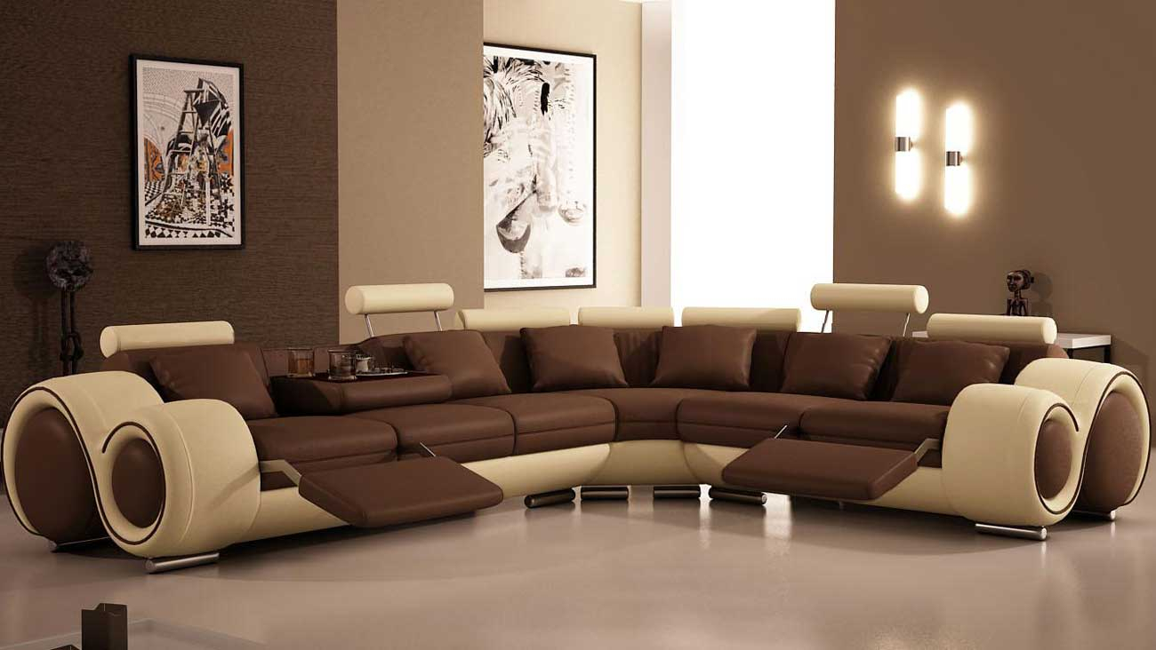 Living Room Attractive Decorating Living Room Chocolate Brown intended for 12 Genius Designs of How to Make Full Living Room Set