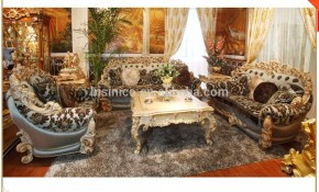 Luxury French Rococo Style Wood Carved Fabric Sofa Set Palace Royal Elegant Living Room Furniture Sofa Set Buy Rococo Fabric Sofa Setluxury pertaining to Elegant Living Room Sets