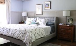 Master Bedroom Makeover Reveal Decorating Ideas for Modern Masculine Bedroom