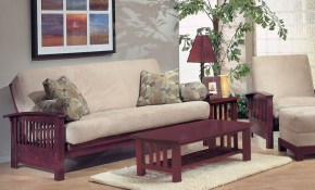 Opulence Futon Living Room Furniture House Pinterest pertaining to 10 Genius Concepts of How to Make Futon Living Room Set