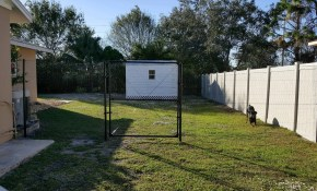 Outdoor Dog Enclosure Kits with regard to Backyard Fence For Dogs