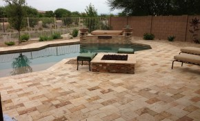 Outdoor Kitchen On Arizona Backyard Landscape Design Sard Info in 10 Smart Concepts of How to Makeover Arizona Backyard Landscaping