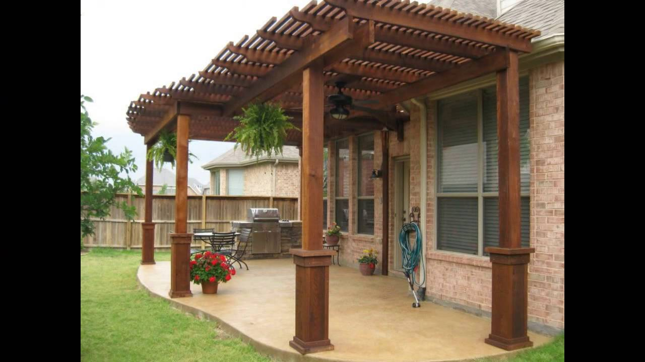 Patio Cover Designs Wood Patio Cover Designs Free Standing Patio Cover Designs regarding Backyard Patio Roof Ideas