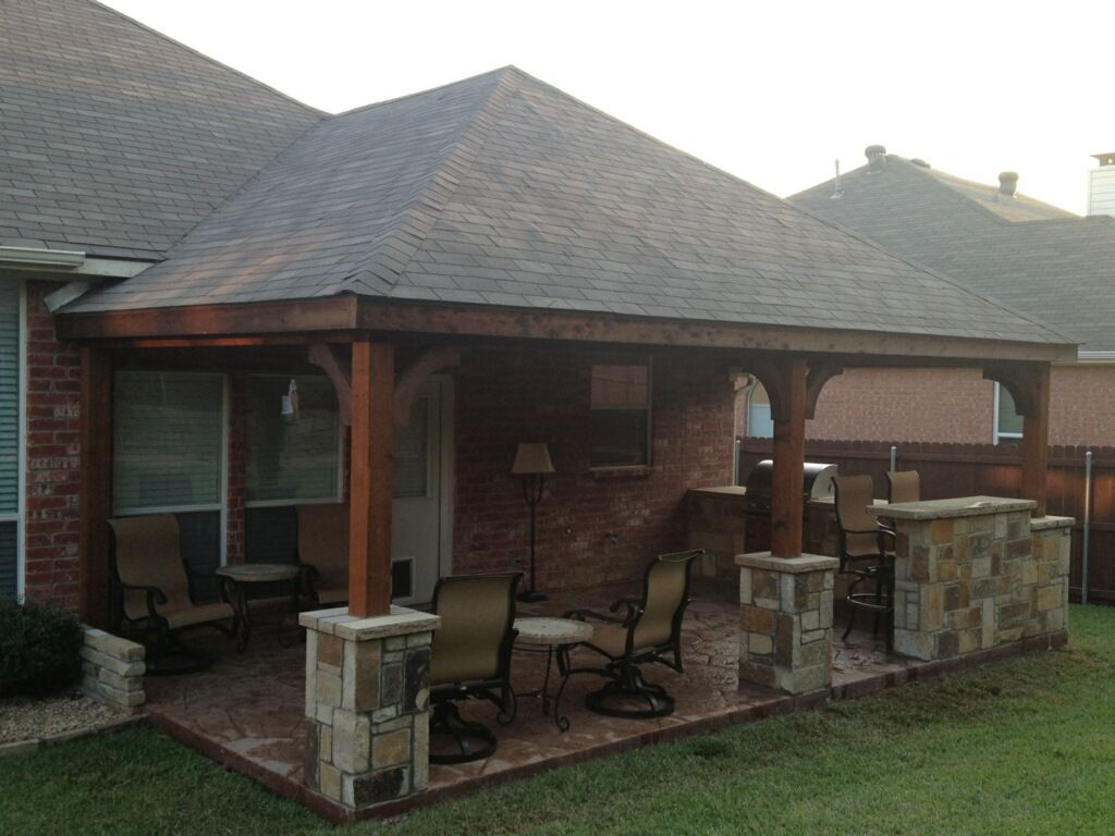 Patio Cover Photos C3 Backyard Oasis Llc Denton Texas Outdoor within 12 Genius Concepts of How to Build Backyard Patio Roof Ideas