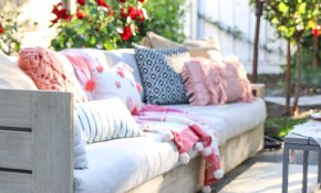 Patio Decorating Ideas 7 Simple Summer Updates Modern Glam within Decorating Ideas For Backyard