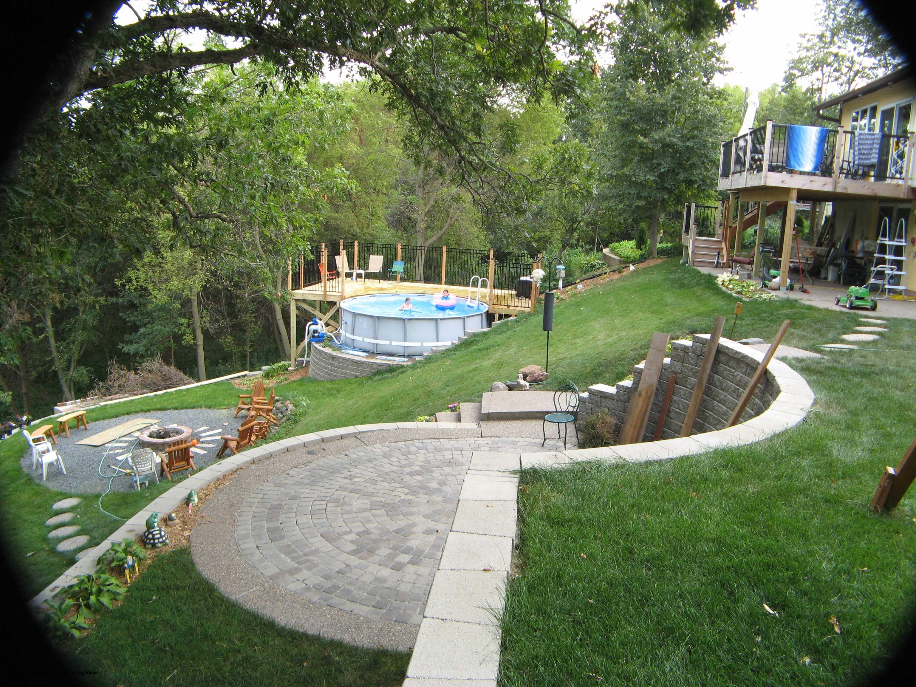 Patio Designs For Sloped Yards Stunning How To Level A Hill In with regard to 13 Awesome Concepts of How to Makeover Landscaping Ideas For A Hill In Backyard