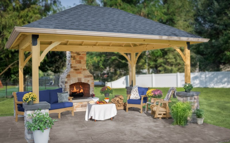 Pavilion Backyard Ideas For Your Outdoor Living Space throughout 13 Genius Tricks of How to Build Pavilion Ideas Backyard