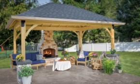 Pavilion Backyard Ideas For Your Outdoor Living Space throughout Backyard Pavilion Ideas