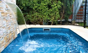 Plunge Pools Small Courtyard Swimming Pools Compass Pools throughout 12 Genius Designs of How to Upgrade Small Backyard Swimming Pool Ideas