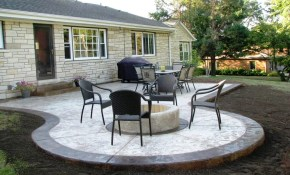 Raised Concrete Patio Ideas Awesome Patio Ideas How To Mix inside 15 Awesome Designs of How to Makeover Backyard Concrete Ideas