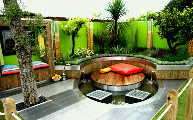 Small Backyard Decoration Ideas Decor Its pertaining to 12 Genius Concepts of How to Make Small Backyard Decor