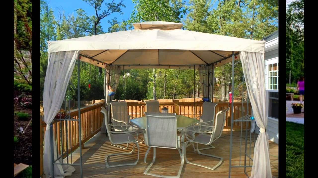 Small Patio Gazebo Ideas with Ideas For Gazebos Backyard