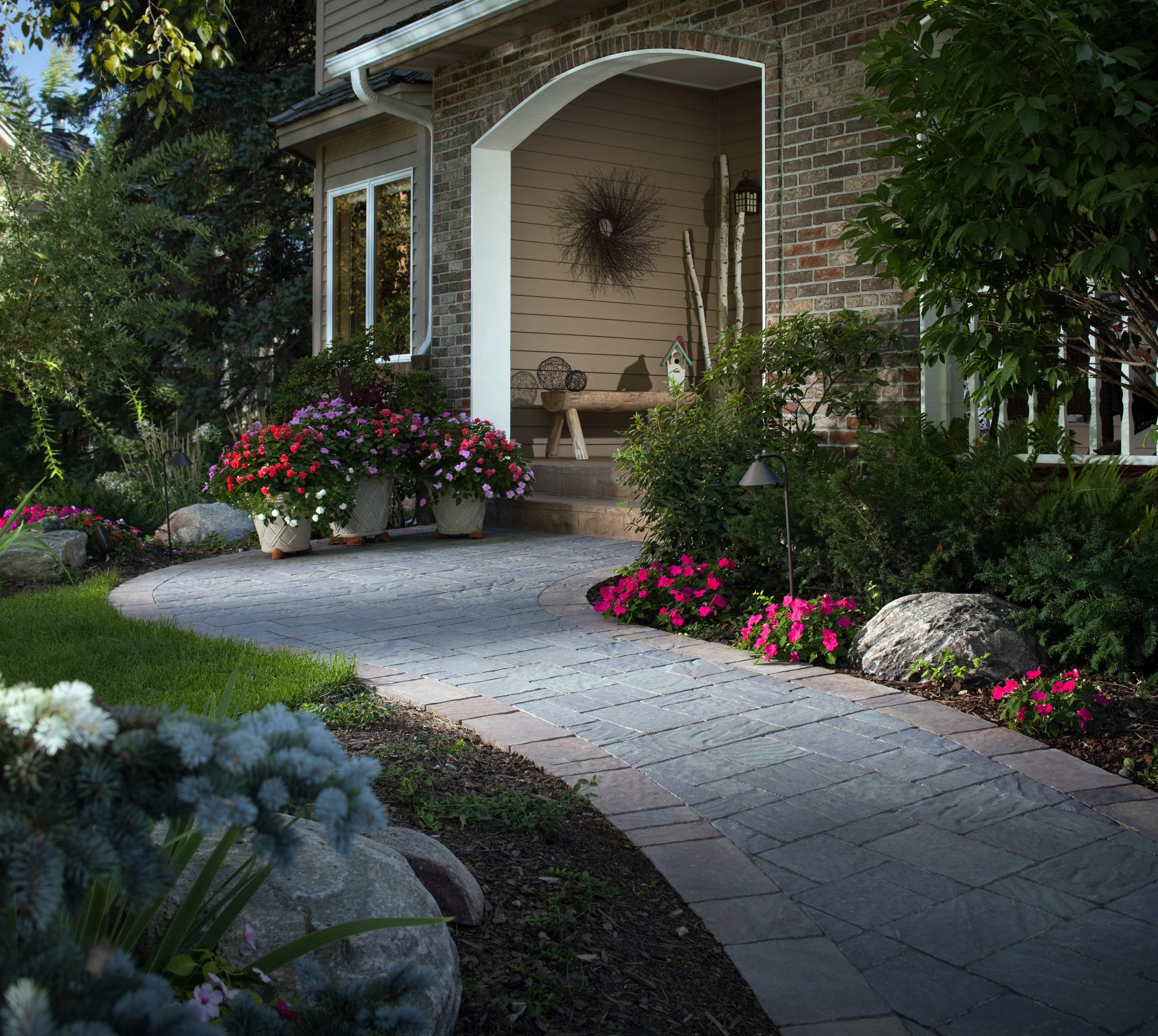 Stone Pathways Stepping Stone Walkway Ideas Designs Install It pertaining to Walkway Ideas For Backyard