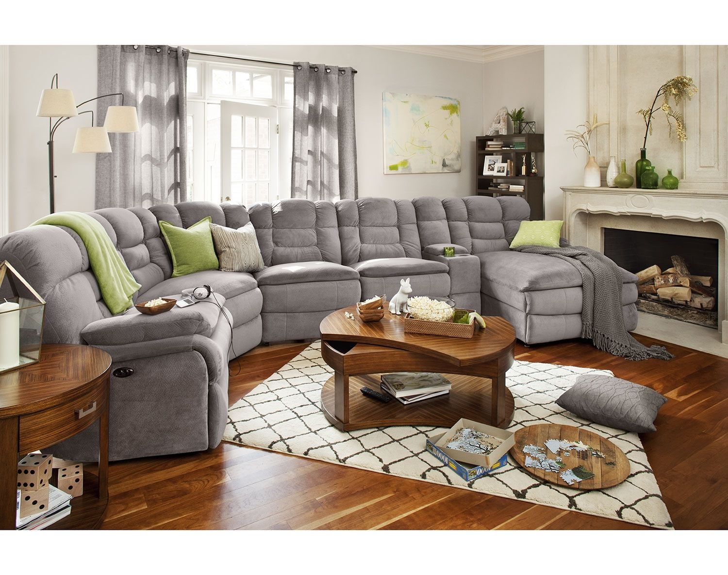 The Big Softie Ii Collection American Signature Furniture intended for American Signature Living Room Sets