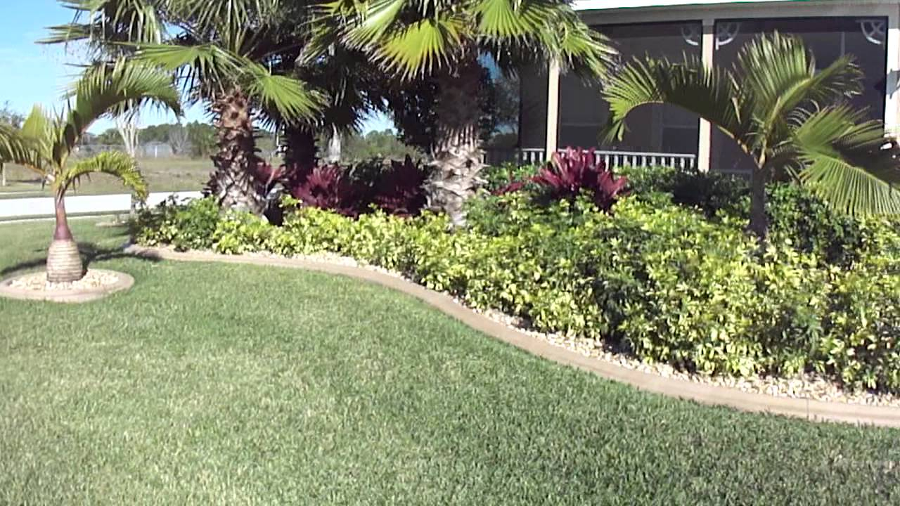 Tropical Landscaping Ideas For Front Yard Amys Office Small Backyard throughout Backyard Tropical Ideas