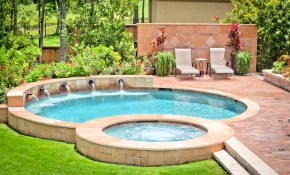 Uberraschend Small Backyard Plunge Pool Ideas Ground Spaces Bloxburg in Small Backyard Swimming Pool Ideas
