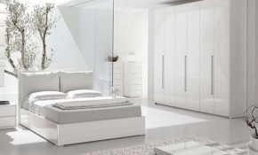 White Bedroom Ideas Modern Themes Of Homes within White Modern Bedroom Ideas