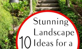 10 Stunning Landscape Ideas For A Sloped Yard Yard Ideas inside 13 Genius Ideas How to Upgrade Landscaping A Sloped Backyard