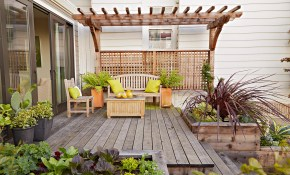 16 Simple Solutions For Small Space Landscapes for Backyard Landscaping Ideas For Small Yards