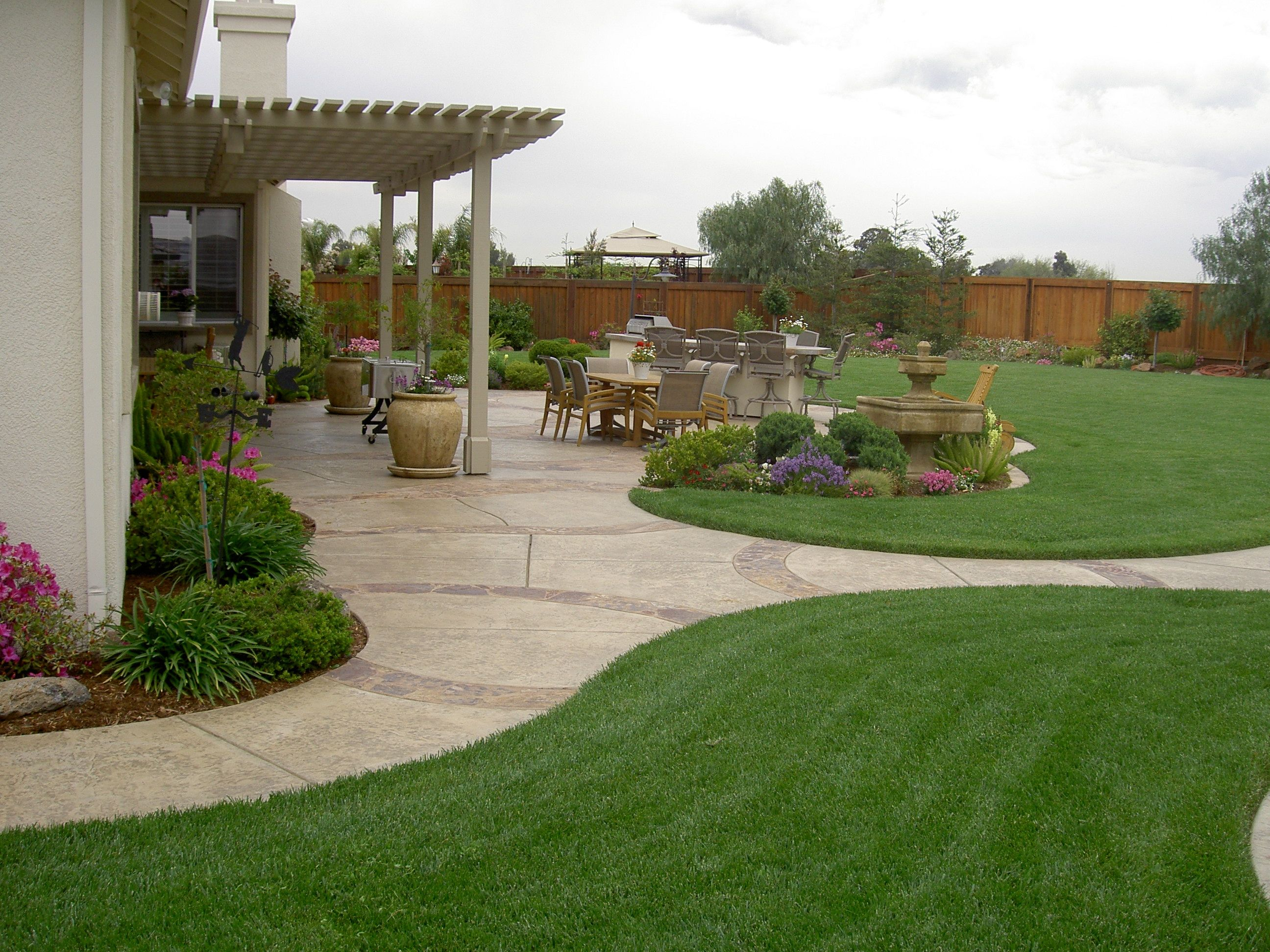 20 Awesome Landscaping Ideas For Your Backyard Gardens pertaining to 15 Genius Ideas How to Build Big Backyard Design Ideas