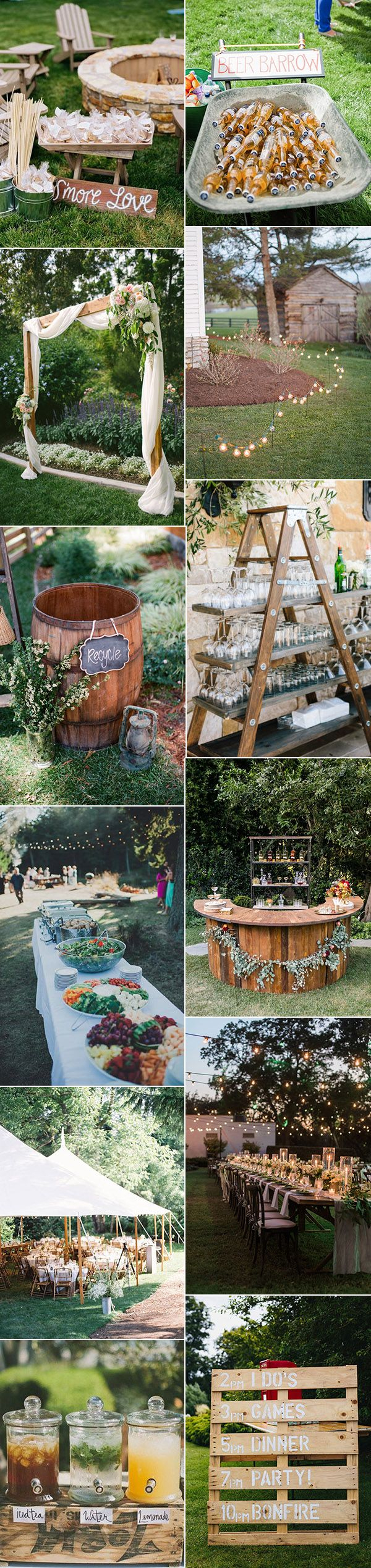 20 Great Backyard Wedding Ideas That Inspire Weddings throughout 15 Awesome Designs of How to Craft Backyard Country Wedding Ideas