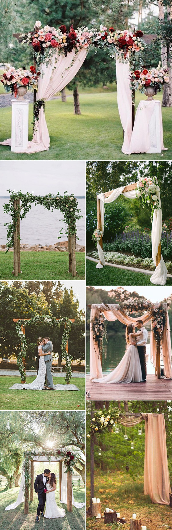 35 Brilliant Outdoor Wedding Decoration Ideas For 2018 Trends with regard to Small Backyard Wedding Ceremony Ideas