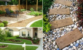 35 Easy Simple And Cheap Landscape Ideas For Front Yard Garden Ideas within Easy Landscape Ideas Backyard
