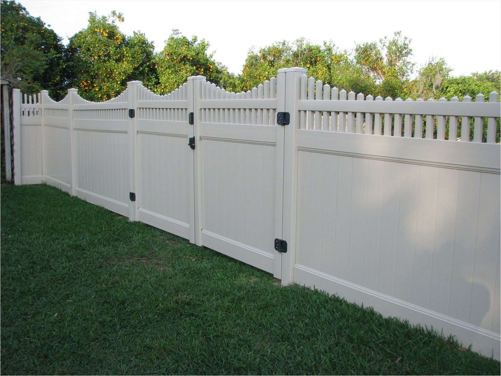 44 Perfect Vinyl Privacy Fence Ideas That Will Make Your throughout How Much Does A Backyard Fence Cost
