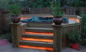 47 Irresistible Hot Tub Spa Designs For Your Backyard Dive in 15 Genius Ways How to Improve Backyard Hot Tub Ideas